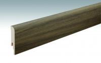 MEISTER Sockelleisten Fußleisten Nussbaum 6440 - 2380 x 80 x 16 mm