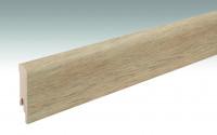 MEISTER Sockelleisten Fußleisten Fjordeiche hell 6846 - 2380 x 80 x 16 mm
