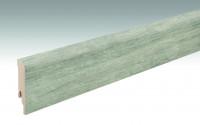 MEISTER Sockelleisten Fußleisten Fjordeiche grau 6847 - 2380 x 80 x 16 mm