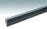 MEISTER Sockelleisten Fußleisten Siena grau 6305 - 2380 x 50 x 18 mm