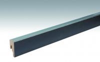 MEISTER Sockelleisten Fußleisten Schiefer anthrazit 6332 - 2380 x 50 x 18 mm
