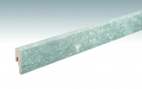 MEISTER Sockelleisten Fußleisten Cool Storm 6533 - 2380 x 50 x 18 mm
