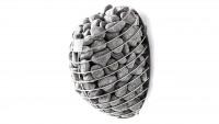 Premium Saunaofen hängend 9 kW mit 60 kg Steinen