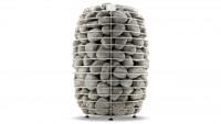 Premium Saunaofen stehend 12 kW mit 200 kg Steinen
