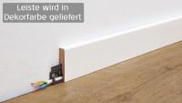 Wineo Fußleiste Supreme Oak Grey 16 x 60 x 2380 mm