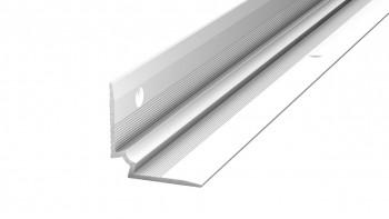 Prinz Treppenkanteninnenwinkel - 27 x 27 mm - silber