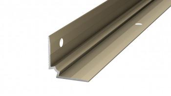 Prinz Treppenkanteninnenwinkel - 27 x 27 mm - Edelstahl matt