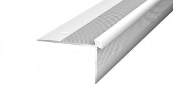 Prinz Treppenkantenprofil 42 x 28 mm - silber - 250 cm bis 5 mm