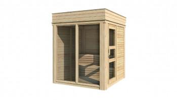 planeo Sauna Paradiso 2x2 naturbelassen