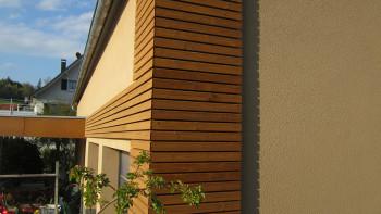 planeo Holzfassade Rhombusleiste Thermo-Kiefer PaC 20x65