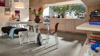 MEISTER Bio-Klick Designboden - MeisterDesign flex DB 400 Terrazzo hell 6859
