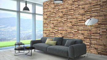planeo 3D Wall Panels Natural Shale