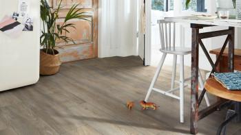 MEISTER Bio-Klick Designboden - MeisterDesign comfort DD600S Wildeiche grau 6977