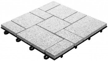 planeo Klickfliese Stone - Granit Roma