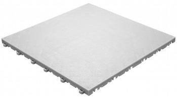 planeo Klickfliese Floor - Weiß-Alu