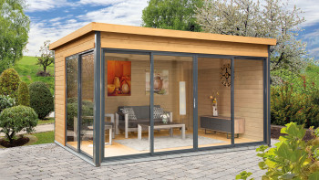 planeo Gartenhaus - Systemhaus Studio 44-D