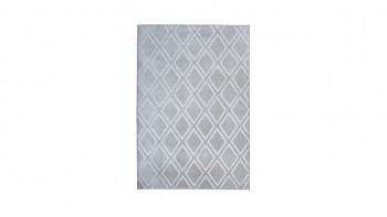 planeo Teppich - Monroe 300 Grau / Blau