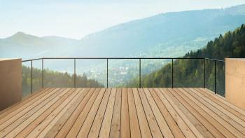 TerraWood Holzterrasse Lärche sibirisch A 28 x 142mm - beidseitig glatt