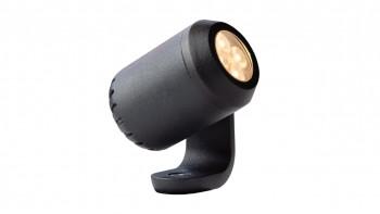 planeo Gartenbeleuchtung 12V - LED-Strahler Juno 2 Strahler Alu - 1.5W 192Lumen