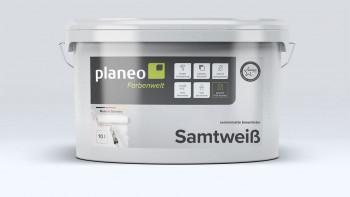 planeo Samtmatt Premium 10l weiß - Seidenmatt
