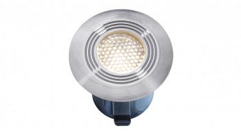planeo Terrassenbeleuchtung 12V - LED-Einbauleuchte Onyx30 R1 - 0.5W 4Lumen