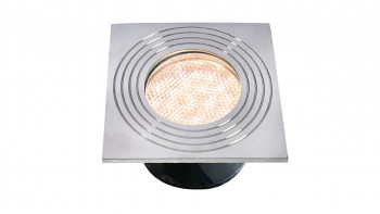 planeo Terrassenbeleuchtung 12V - LED-Einbauleuchte Onyx60 R4 - 1W 23Lumen