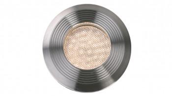 planeo Gartenbeleuchtung 12V - LED-Einbauleuchte Onyx 90 R1 Einbauleuchte Edelstahl - 1.5W 38Lumen