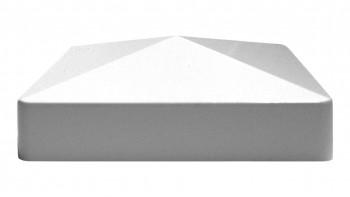 planeo Basic - Pfostenkappe Weiß