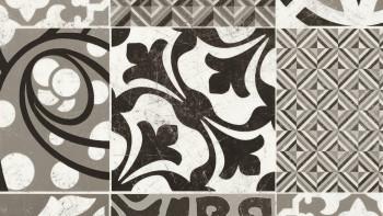 Gerflor CV-Belag - TEXLINE PROVENCE BLACK & WHITE - 1981