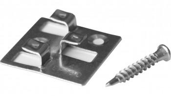 planeo Terrassenclip 4mm Fuge - 150 St. inkl. Edelstahlschrauben