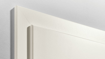 Zarge Standard Rundkante Weißlack 9010 - 1985mm