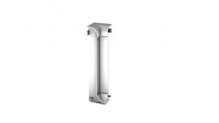 Angle intérieur Prinz pour plinthe / plinthe en aluminium - 13x60 mm