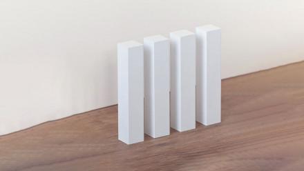 planeo coins carrés en bois 22mm 4pcs.