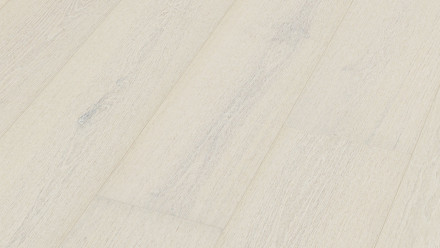 Parquet MEISTER Lindura - HD 400 Chêne naturel laqué blanc polaire mat 8737