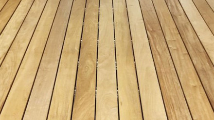 Terrasse en bois TerraWood - GARAPA PRIME 21 x 145mm lisse sur les deux faces