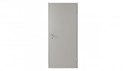 planeo CPL-Innentür CPL 1.0 - Pelle Silbergrau 2110 x 985 mm DIN R - Rund RSP Band 2-t