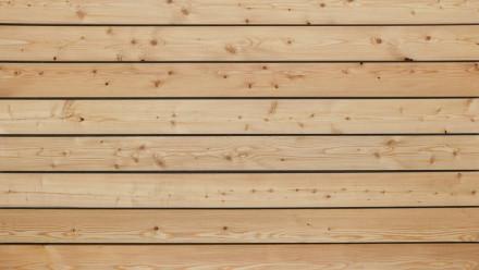 TerraWood terrasse en bois de mélèze sibérien A/B 28 x 142mm - lisse sur les deux faces
