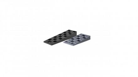 cales de réglage planéo en plastique gris 14-40mm