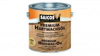 Saicos PREMIUM Huile de cire dure incolore mat 0,75l