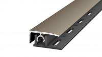 Prinz Profi-Tec MASTER profilé d'extrémité 1000 mm en acier inoxydable mat