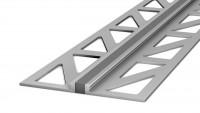 Profil de joint de dilatation en aluminium Prinz 3mm