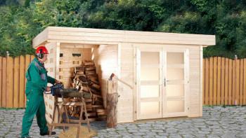 maison d'été planeo - maison système Varianta A ou B avec toit latéral/mur arrière ou étage terrasse supplémentaire