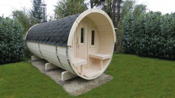 planeo sauna barrel Basic 400
