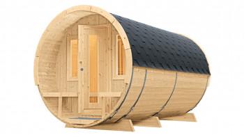 planeo sauna barrel 400 de luxe
