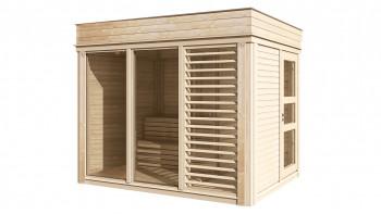 planeo Sauna Paradiso 3x2 (1 pièce) finition naturelle