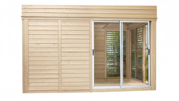 planeo Sauna Paradiso 4x3 (2 pièces) finition naturelle