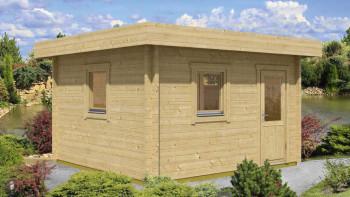planeo sauna house de luxe Keijo 70 finition naturelle