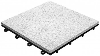 tuile clic planeo Stone - granite pleine surface - 4 pcs - 0.36m²