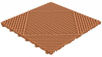 planeo Klickfliese Classic - Terracotta