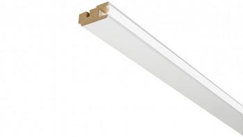LED Deckenleiste Grundierfolie/weiß